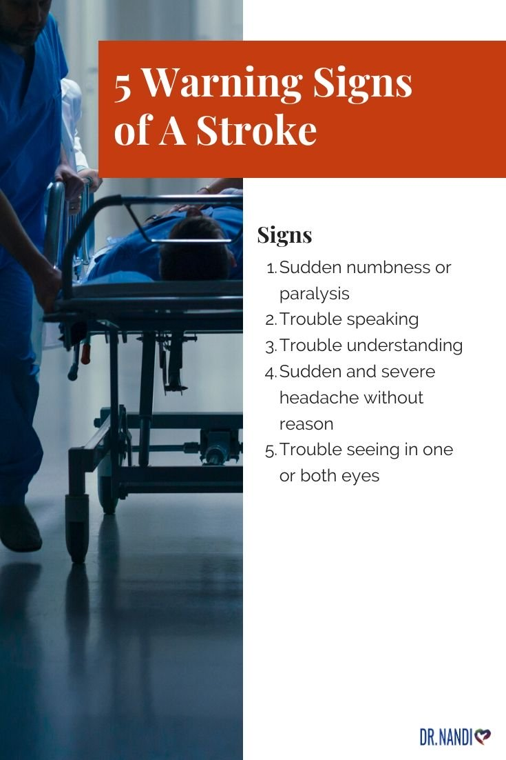 13 Stroke Warning Signs & What To Do If Someone Has Them