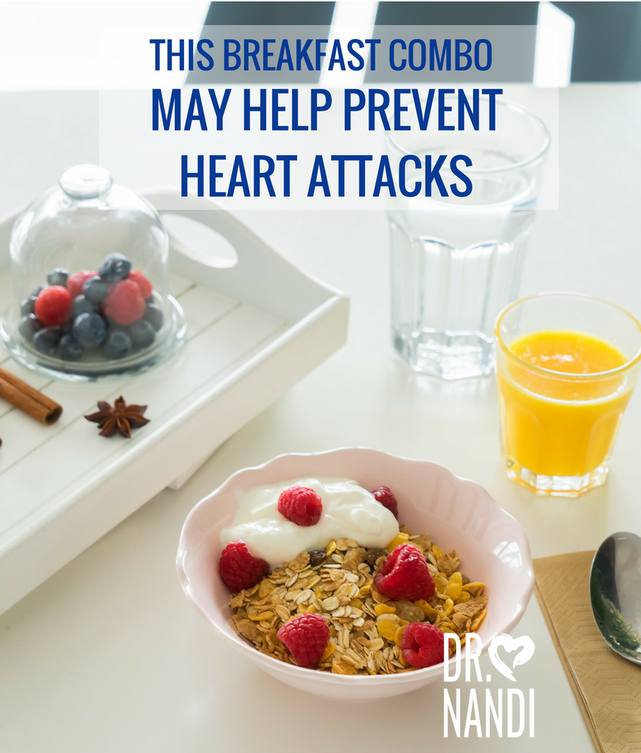 This Breakfast Combo May Help Prevent Heart Attacks