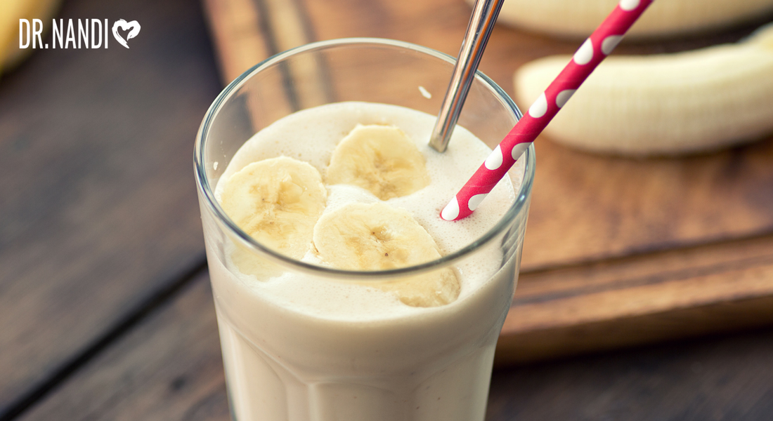 Banana, Ginger, recipe, smoothie