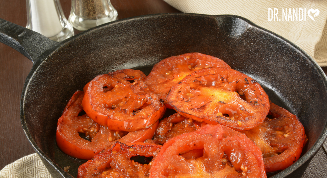 Herb Fried Tomatoes