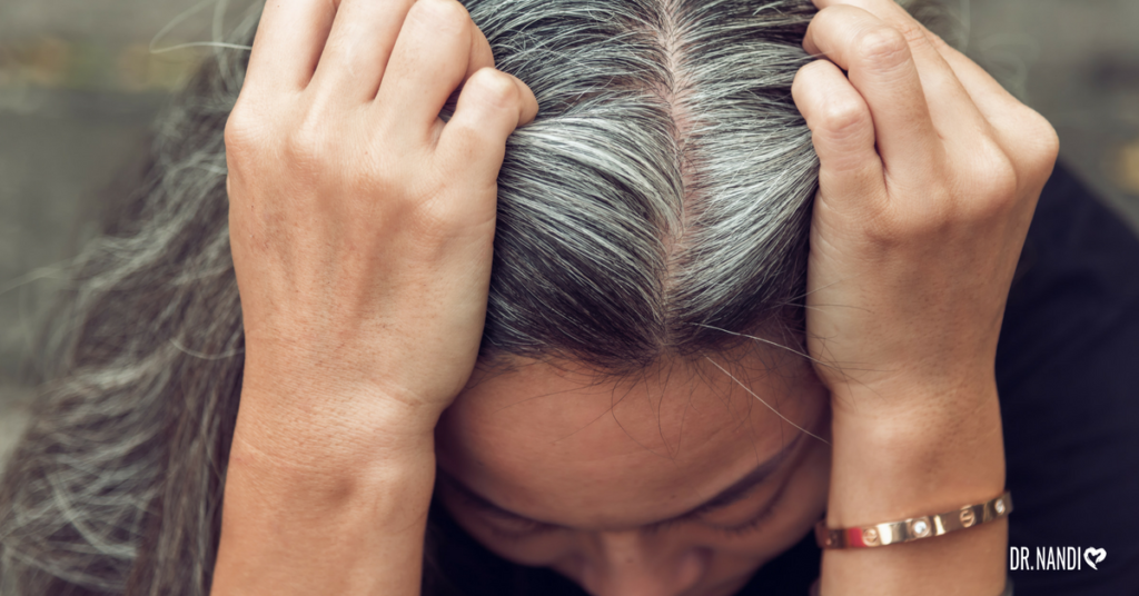 Gray Hair Symptom of Heart Disease