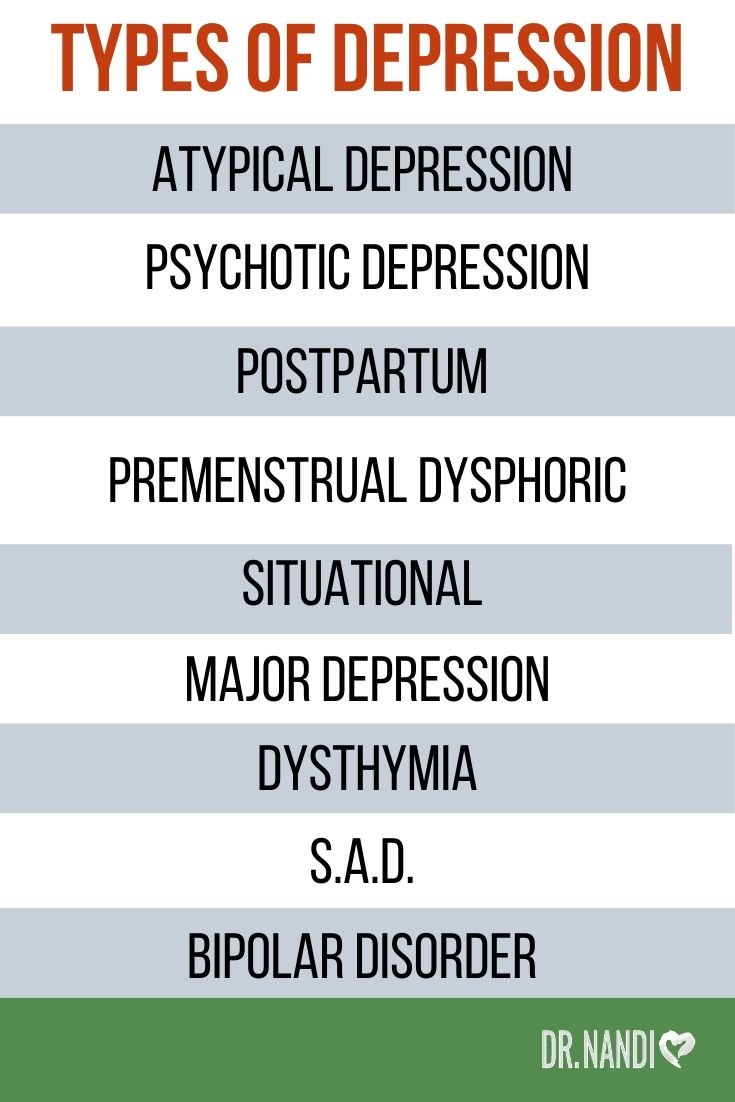 Depression: Types, Symptoms, Causes & Solutions