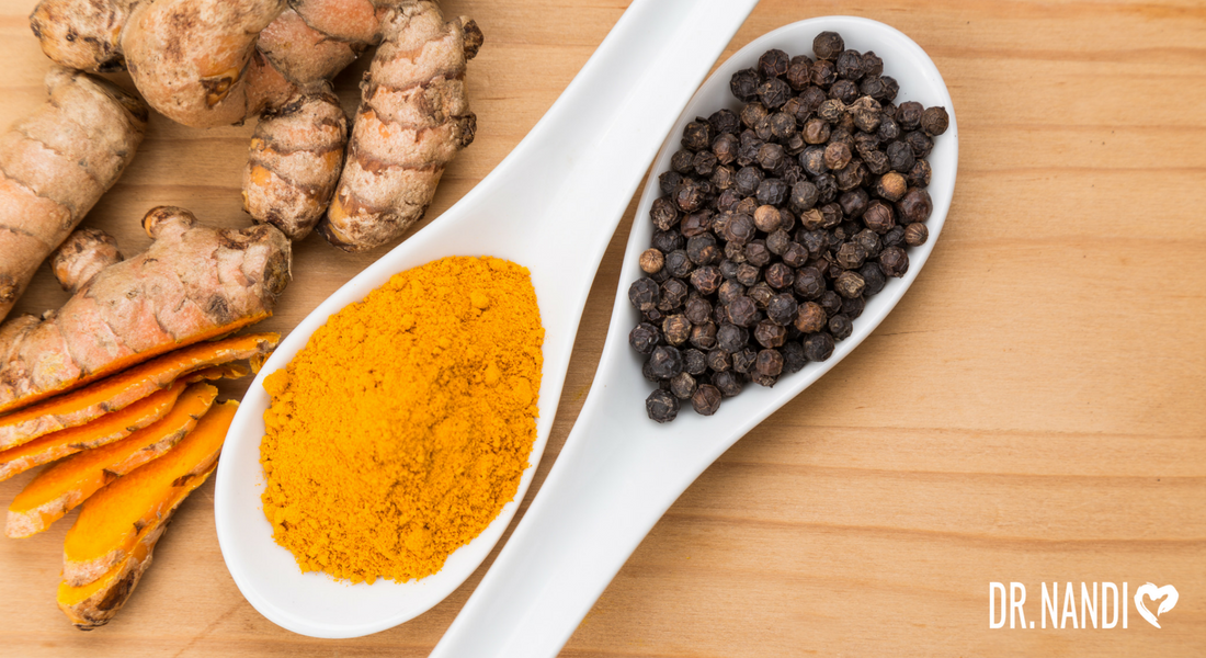 Turmeric and Black pepper Paste