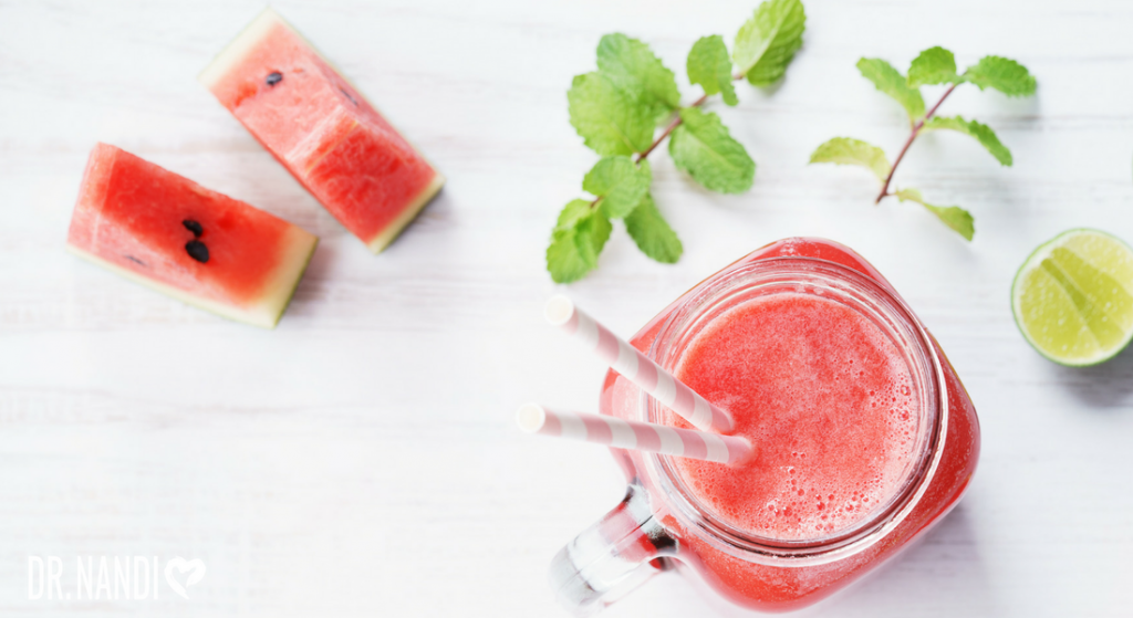 Watermelon Mint Drink