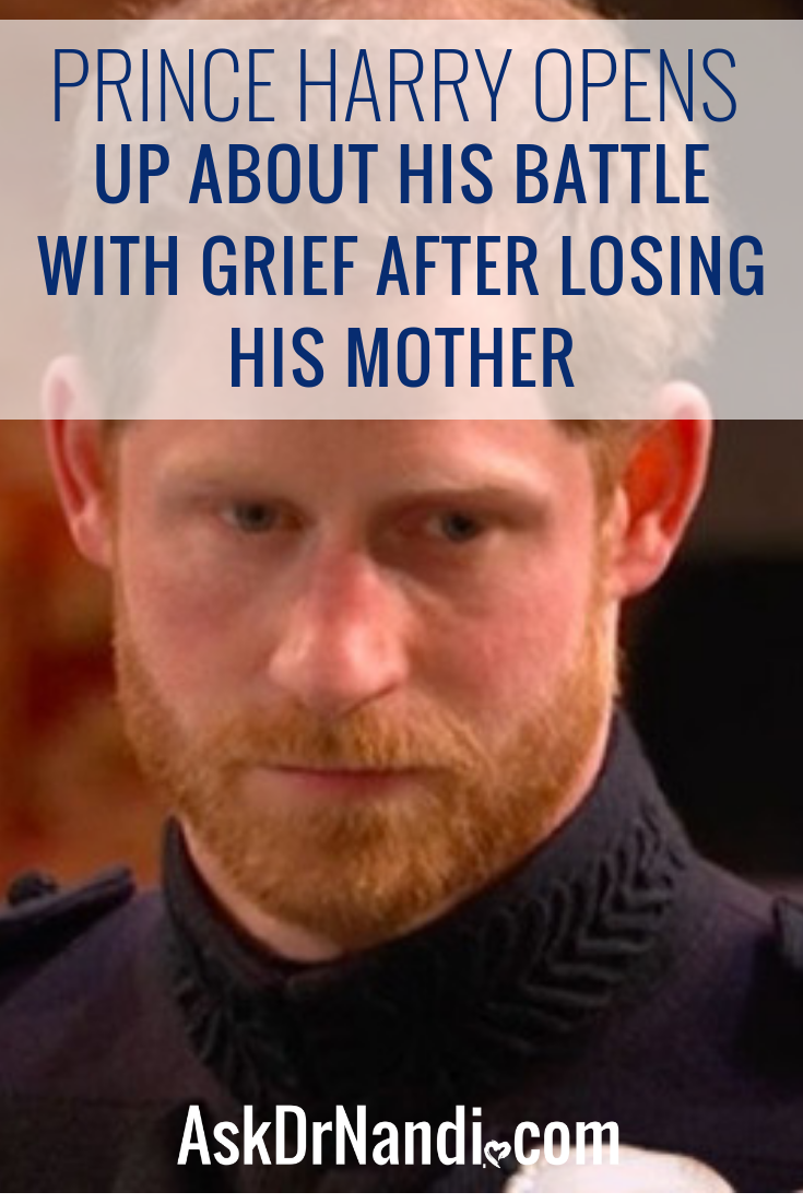 Prince Harry Opens Up About His Battle With Grief After Losing His Mother