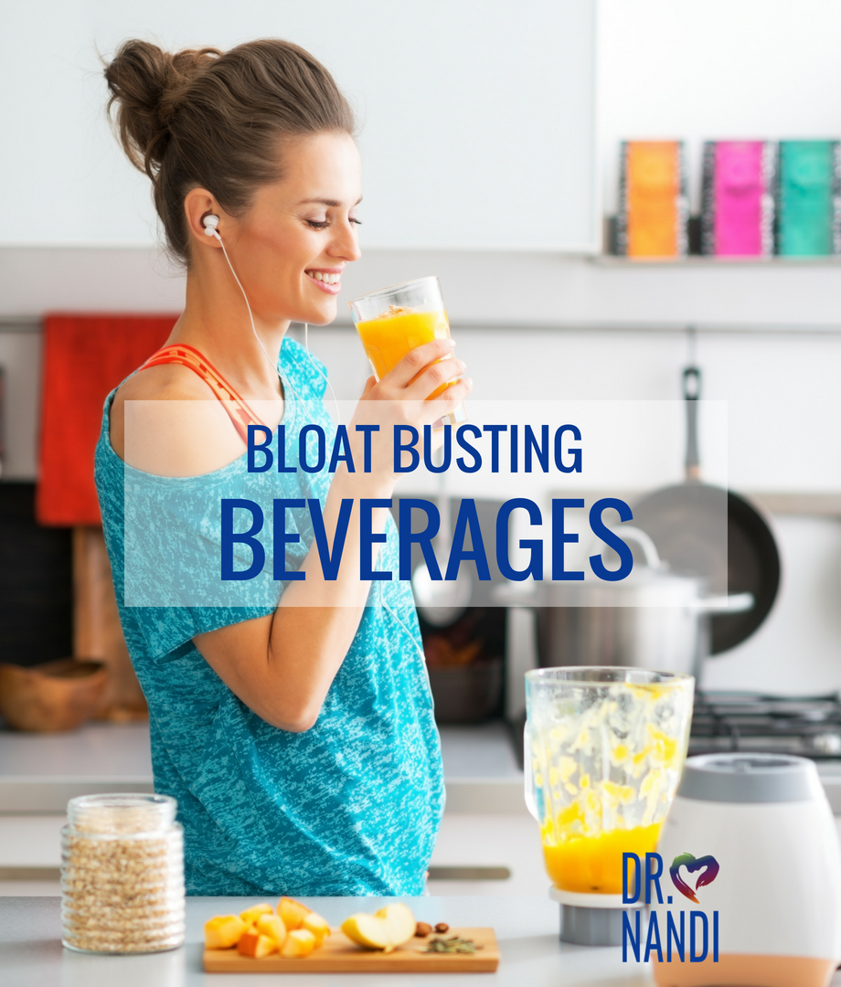 Bloat Busting Beverages