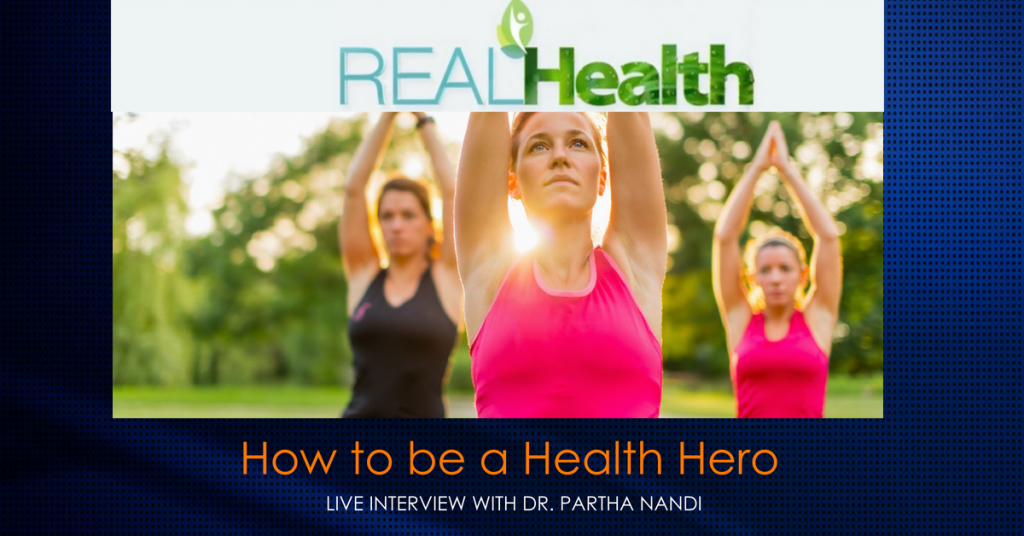 Dr. Nandi on Real Health