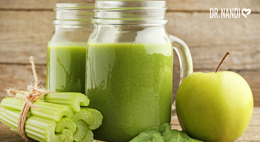 Sooth your stomach with Celery Juice