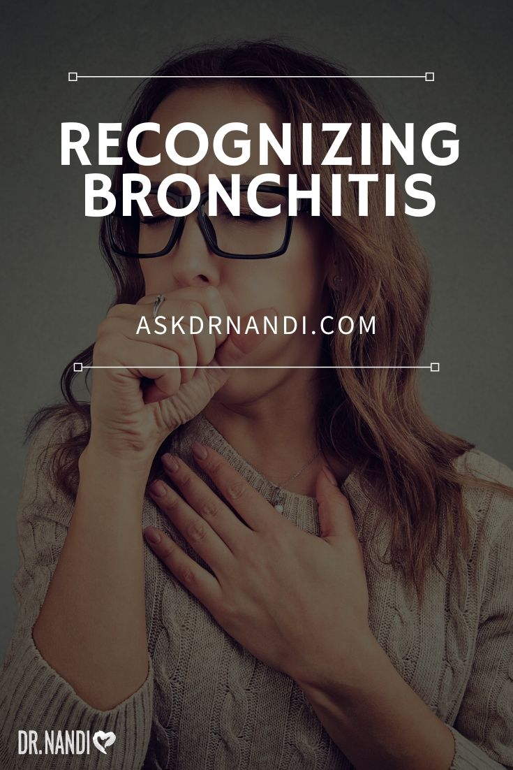 Ultimate Guide To Bronchitis - Conventional & Natural Treatments