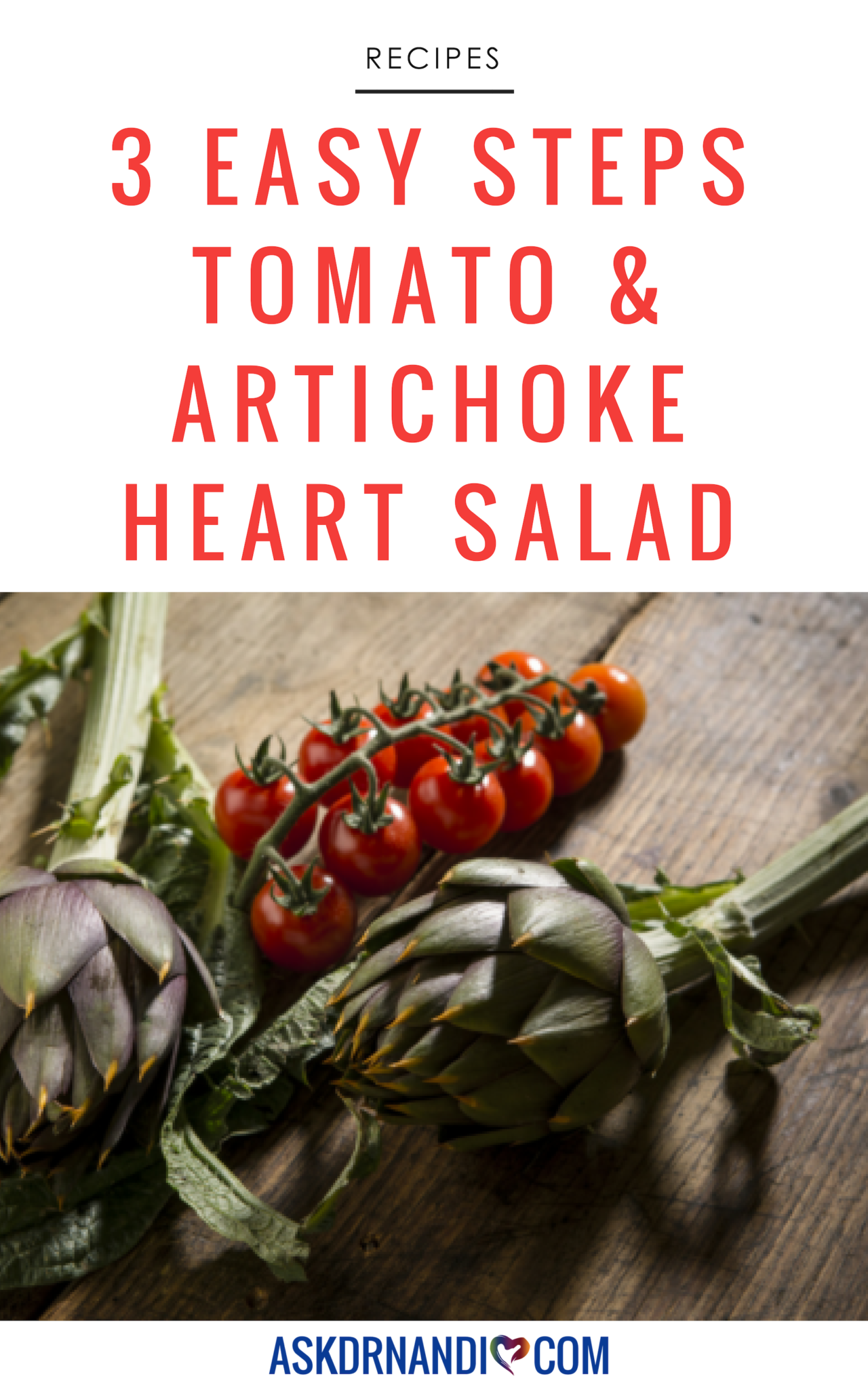 Tomato and Artichoke Heart Salad