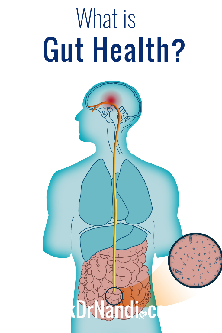 Your gut refers to everything from your stomach to colon. Often called your \