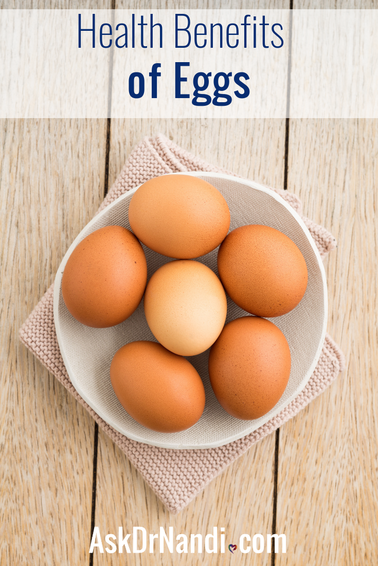 Eggs are loaded with some amazing nutrients! They can provide many health benefits as part of a balanced diet.