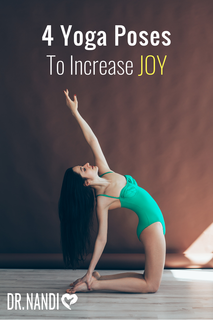 Yoga is thought to facilitate change at a cellular level. Try these yoga poses to open your mind and body to more joy.