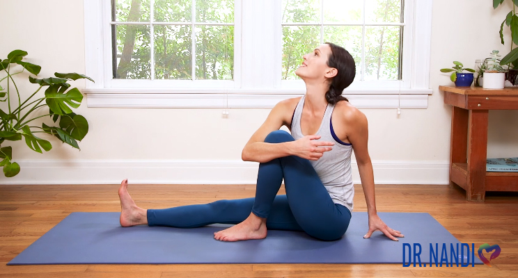 Yoga to Support Liver Function