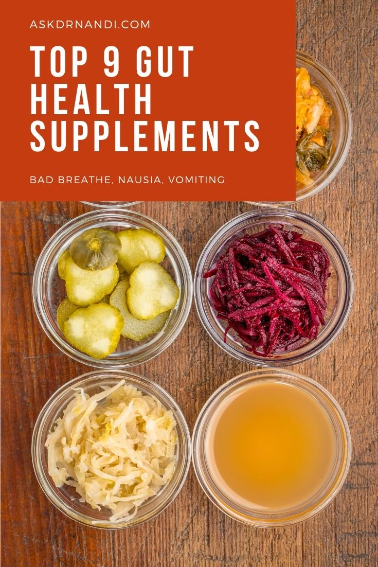 Top 9 Natural Gut Health Supplements
