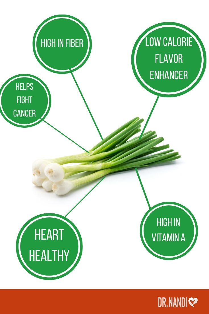 Extraordinary Health Benefits of Green Onions