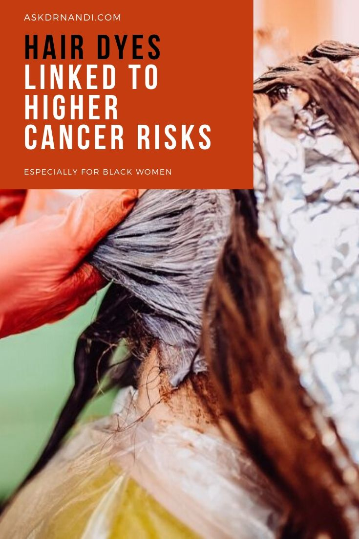 Hair Dyes Linked To Higher Cancer Risks, Especially For Black Women