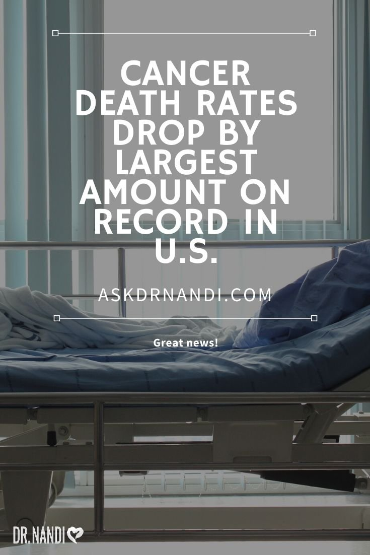 Cancer Death Rate Posts Biggest One-Year Drop, Ever!