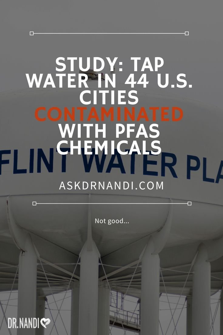 Elevated PFAS levels found in tap water in major U.S. cities