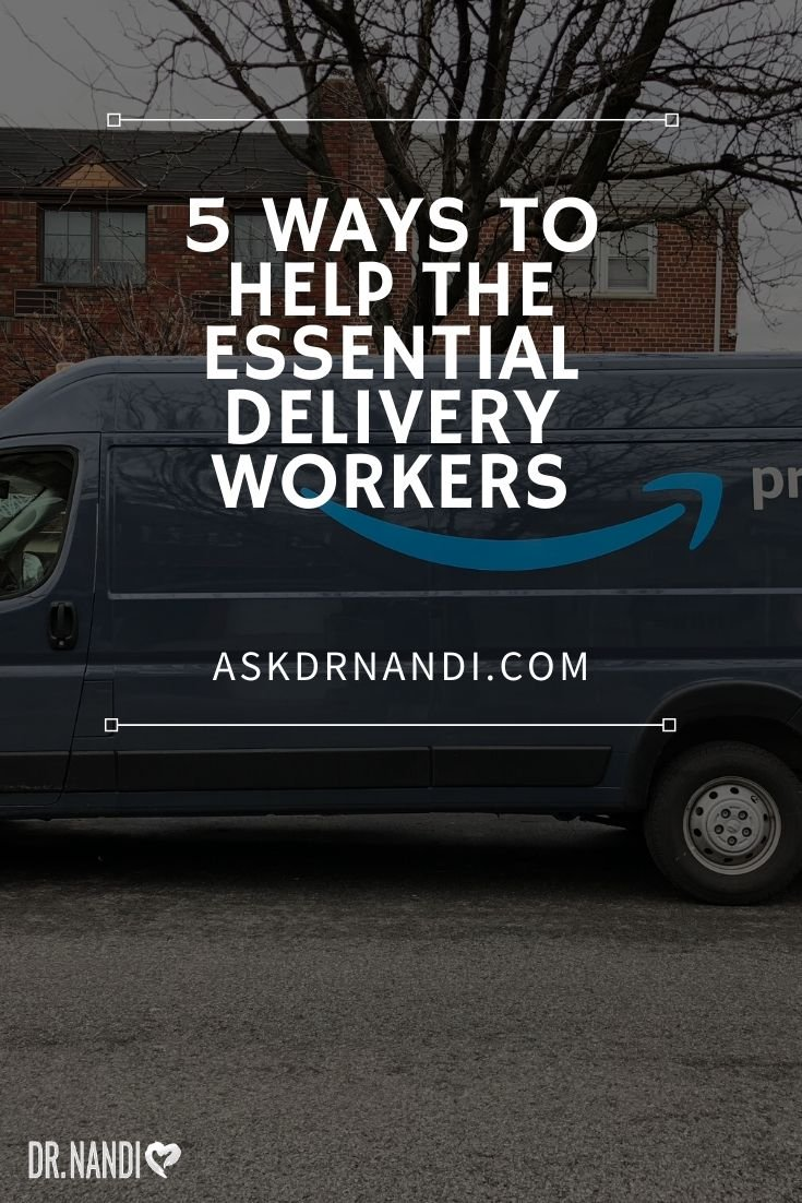 How To Help Delivery People During The Pandemic