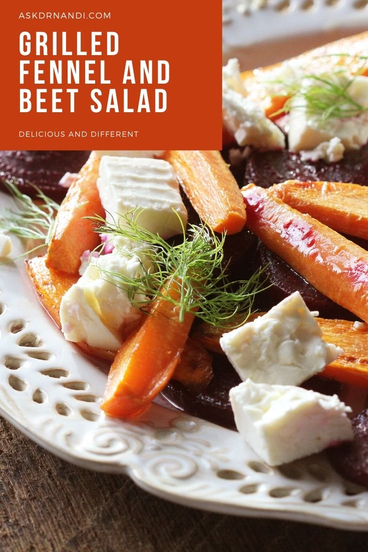 Grilled Fennel and Beet Salad