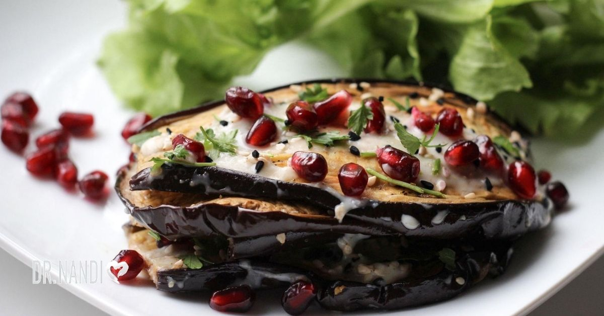 Grilled Eggplant with Spicy, Sweet Hoisin Sauce