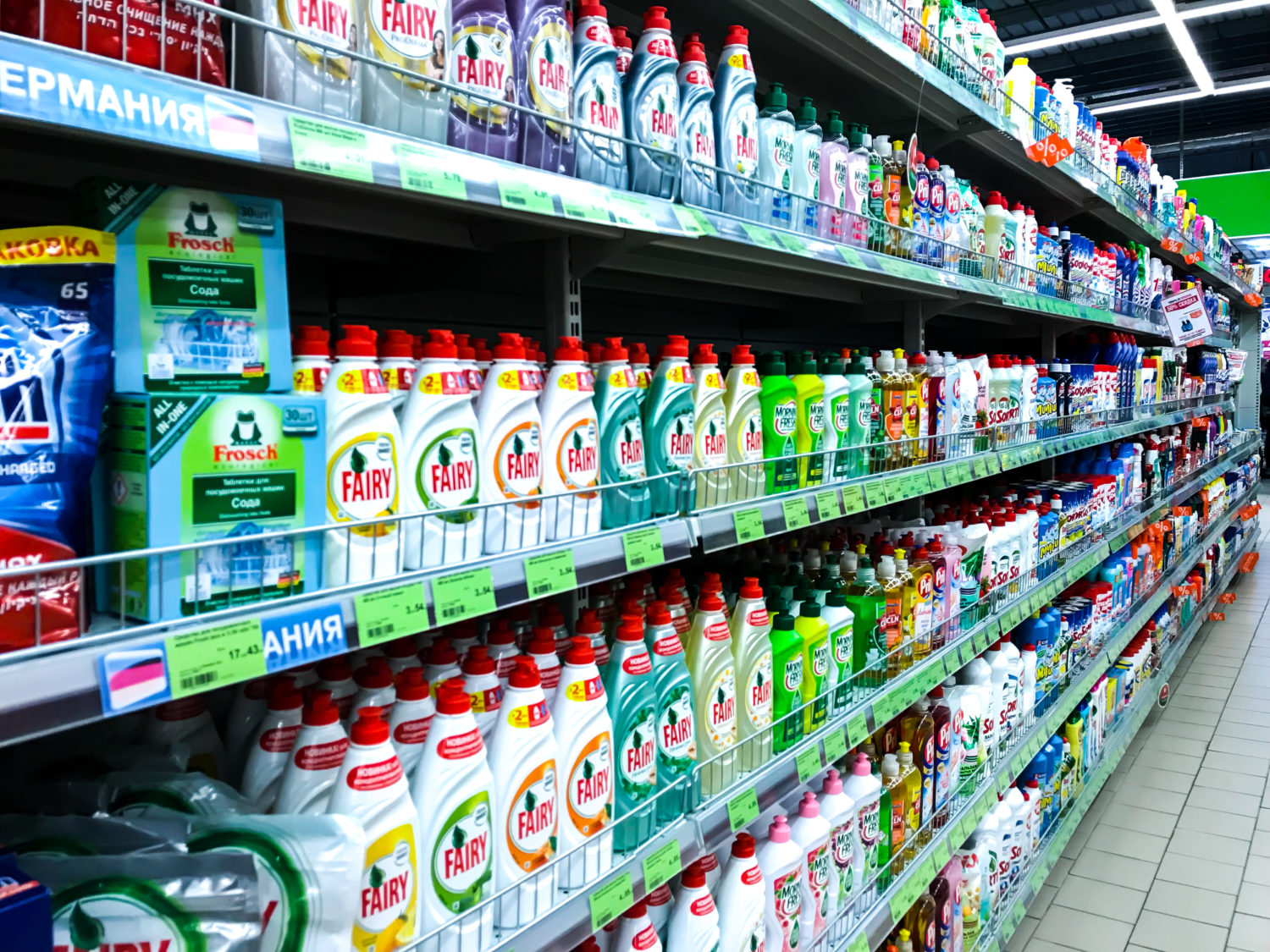 The Connection Between Household Chemicals And Gut Microbiome